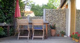 Gartensichtschutz ? Performal.info Gartenzaun Sichtschutz Naturstein